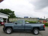 2014 Blue Granite Metallic Chevrolet Silverado 1500 WT Regular Cab #94807184