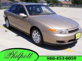 2001 Medium Gold Saturn L Series L200 Sedan #9473793