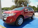 2014 Ruby Red Ford Edge Limited #94807164