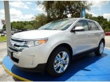 2014 Ingot Silver Ford Edge Limited #94807163