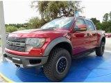 2014 Ruby Red Ford F150 SVT Raptor SuperCrew 4x4 #94807159