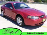2003 Redfire Metallic Ford Mustang V6 Coupe #9473795