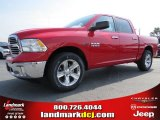 2014 Flame Red Ram 1500 Big Horn Crew Cab #94855802