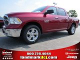 2014 Deep Cherry Red Crystal Pearl Ram 1500 Big Horn Crew Cab #94855796