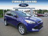 2014 Deep Impact Blue Ford Escape Titanium 2.0L EcoBoost 4WD #94855764