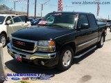 2005 Onyx Black GMC Sierra 1500 SLT Crew Cab #9477427
