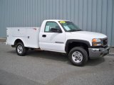 2007 Summit White GMC Sierra 2500HD Classic Regular Cab Chassis #9467179