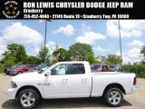 2014 Bright White Ram 1500 Sport Quad Cab 4x4 #94855730