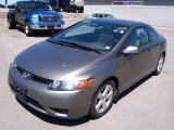 2006 Galaxy Gray Metallic Honda Civic EX Coupe #9464503