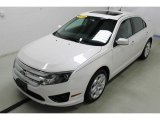 2010 White Platinum Tri-coat Metallic Ford Fusion SE V6 #94855557
