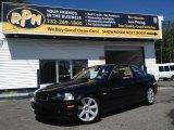 2002 Jet Black BMW 3 Series 325i Coupe #94902475
