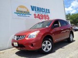 Cayenne Red Nissan Rogue in 2012