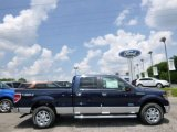2014 Blue Jeans Ford F150 XLT SuperCrew 4x4 #94902296