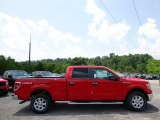 2014 Race Red Ford F150 XLT SuperCrew 4x4 #94902295