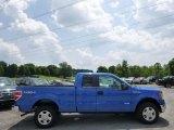 2014 Blue Flame Ford F150 XLT SuperCab 4x4 #94902289