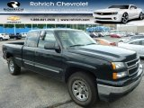 2006 Black Chevrolet Silverado 1500 LS Extended Cab 4x4 #94902454