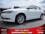 2015 Bright White Chrysler 200 Limited #94920718
