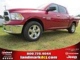 2014 Deep Cherry Red Crystal Pearl Ram 1500 Big Horn Crew Cab #94920717