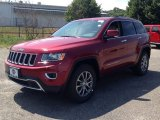 2014 Deep Cherry Red Crystal Pearl Jeep Grand Cherokee Limited 4x4 #94920608