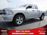 2014 Bright Silver Metallic Ram 1500 Express Quad Cab #94920708