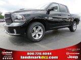2014 Black Ram 1500 Sport Crew Cab #94920707