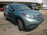 2012 Opal Sage Metallic Honda CR-V LX 4WD #94920984
