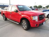 2014 Race Red Ford F150 STX SuperCab #94950944