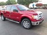 2014 Ruby Red Ford F150 XLT SuperCrew 4x4 #94950942