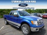 2014 Blue Flame Ford F150 XLT SuperCab 4x4 #94951040