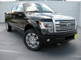 2014 Tuxedo Black Ford F150 Platinum SuperCrew 4x4 #94951133