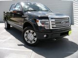 2014 Tuxedo Black Ford F150 Platinum SuperCrew 4x4 #94951132