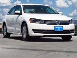 2014 Candy White Volkswagen Passat 2.5L Wolfsburg Edition #94951426