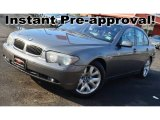 2003 Titanium Grey Metallic BMW 7 Series 745i Sedan #94951091