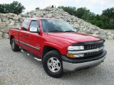 2001 Victory Red Chevrolet Silverado 1500 LT Extended Cab 4x4 #94951361