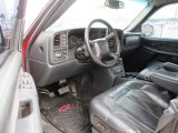 2001 Chevrolet Silverado 1500 LT Extended Cab 4x4 Graphite Interior
