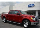 2014 Ruby Red Ford F150 Lariat SuperCrew #94951052