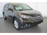 2013 Kona Coffee Metallic Honda CR-V EX-L #94997793