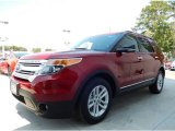 2014 Ruby Red Ford Explorer XLT #94997951
