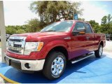 2014 Ruby Red Ford F150 XLT SuperCab #94997941