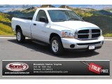 2006 Bright White Dodge Ram 1500 SLT Regular Cab #94997772