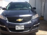 2013 Atlantis Blue Metallic Chevrolet Traverse LS #94998115