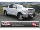 2014 Super White Toyota Tundra Limited Crewmax 4x4 #94997757