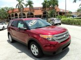 2013 Ruby Red Metallic Ford Explorer FWD #95042638