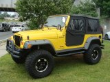 2005 Jeep Wrangler Solar Yellow