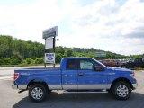 2014 Blue Flame Ford F150 XLT SuperCab 4x4 #95042537