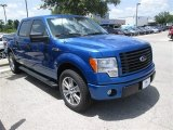 2014 Blue Flame Ford F150 STX SuperCrew #95042571
