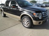 2014 Tuxedo Black Ford F150 King Ranch SuperCrew #95042566