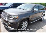 2014 Granite Crystal Metallic Jeep Grand Cherokee Summit 4x4 #95042977