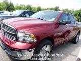 2014 Deep Cherry Red Crystal Pearl Ram 1500 SLT Crew Cab 4x4 #95042975