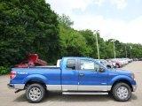 2014 Blue Flame Ford F150 XLT SuperCab 4x4 #95042662
